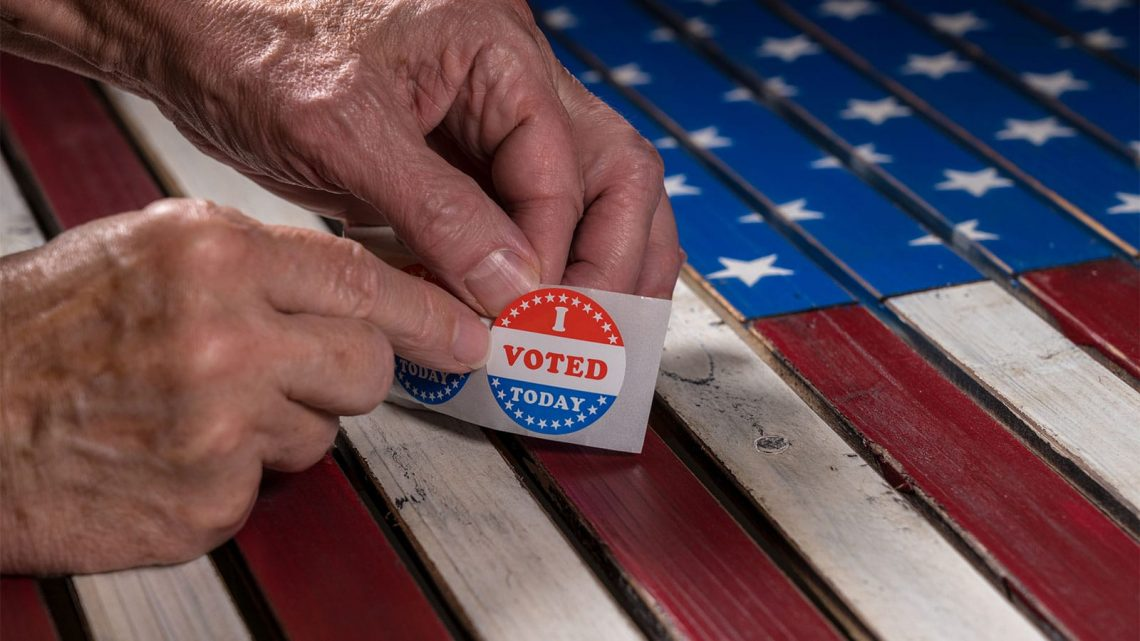 Overcoming voting obstacles as a senior.