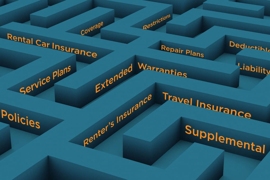 Navigating the maze of additional insurance.