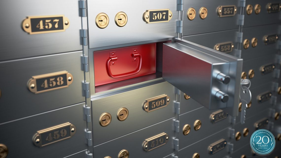 Eddy And Schein Safe Deposit Box Badge Shutterstock 407049856 1920x1080